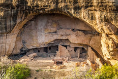 Cliff dwellings in Mesa Verde National Parks, CO, USA Stock Photos
