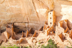 Cliff dwellings in Mesa Verde National Parks, CO, USA Royalty Free Stock Image
