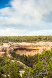 Cliff dwellings in Mesa Verde National Parks, CO, USA Stock Image