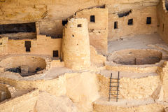 Cliff dwellings in Mesa Verde National Parks, CO, USA Royalty Free Stock Photography