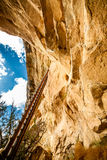 Cliff dwellings in Mesa Verde National Parks, CO, USA Royalty Free Stock Photo