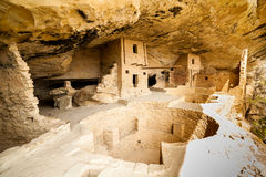 Cliff dwellings in Mesa Verde National Parks, CO, USA Royalty Free Stock Photos