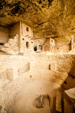 Cliff dwellings in Mesa Verde National Parks, CO, USA royalty free stock images