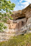Cliff Dwellings at Montezuma  Castle National Monument Stock Images