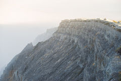 On the cliff Royalty Free Stock Photography
