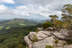 Free Cliff Edge Overlooking Budderoo National Park Royalty Free Stock Image - 156685986