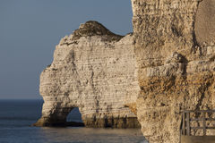 Cliff in Etretat Royalty Free Stock Images