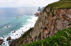 Cliff in Europe Royalty Free Stock Photography