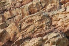 Cliff Face. A photo taken on some rocks at a cliff face stock photos