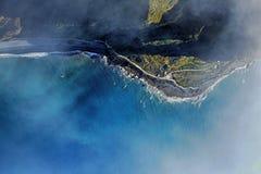 The cliff face of cabo girao,Madeira Royalty Free Stock Photos