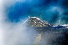 The cliff face of cabo girao,Madeira Stock Image