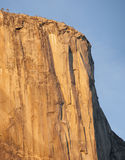 Cliff face of El Capitan, Yosemite National Park, California Royalty Free Stock Photo