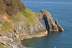 Cliff formation London Bridge Torquay Royalty Free Stock Images