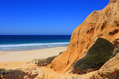 Cliff formations, Portugal Royalty Free Stock Image