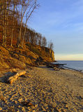 Cliff in Gdynia Royalty Free Stock Photos