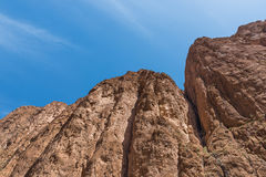 The cliff of Gorges du Dades valley, Morocco Royalty Free Stock Photos