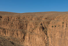 The cliff of Gorges du Dades valley, Morocco Royalty Free Stock Images