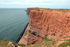 Cliff of Helgoland Royalty Free Stock Images