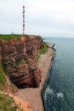 Cliff of Helgoland Royalty Free Stock Image