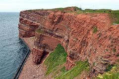 Cliff of Helgoland Royalty Free Stock Photo