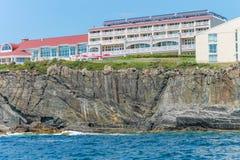 Cliff House Hotel dans Ogunquit, Maine Photographie stock libre de droits