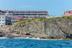 Cliff House Hotel dans Ogunquit, Maine Photos libres de droits
