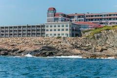 Cliff House Hotel in Ogunquit, Maine stock foto's
