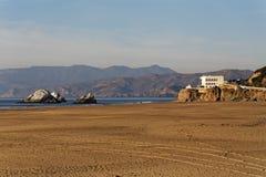 Cliff House and Ocean Beach San Francisco Stock Photos