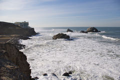 Cliff House and Seal Rock Royalty Free Stock Photos