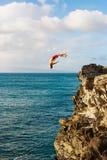 Cliff Jumping Immagini Stock