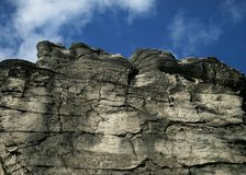 cliff kołysze Zdjęcie Stock