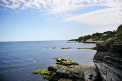 Cliff landsape near Newport, USA Stock Photography