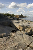 Cliff landscape Stock Photos