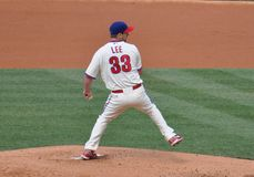 Cliff Lee Stock Photo