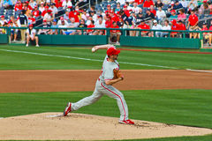 Cliff Lee Philadelphia Phillies Royalty Free Stock Images