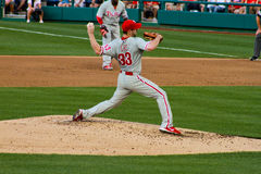 Cliff Lee Philadelphia Phillies pitcher Royalty Free Stock Photography