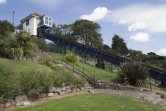 Cliff Lift en Tuinen, southend-op-Overzees, Essex, Engeland Royalty-vrije Stock Afbeeldingen