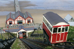 Cliff lifts at Saltburn. Stock Images