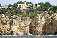 cliff luksusu zamieszkania Obrazy Stock