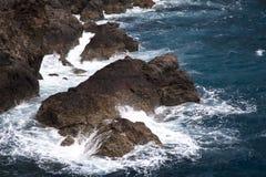 Cliff on Madeira Stock Photos