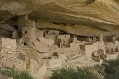 cliff mesa palace verde Arkivfoton
