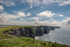 Cliff of moher Royalty Free Stock Image