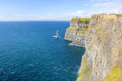 Cliff of Moher Stock Image
