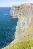 Cliff of Moher Royalty Free Stock Photos