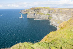 Cliff of Moher Royalty Free Stock Images