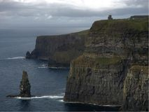 Cliff of Moher, nature Royalty Free Stock Image