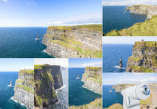 Cliff of Moher set Stock Photography