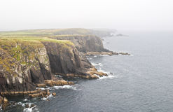 Cliff near Dingle Stock Images