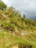 A cliff near Steven Kiprotich playground. Royalty Free Stock Photography