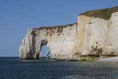 cliff Normandia Obraz Royalty Free